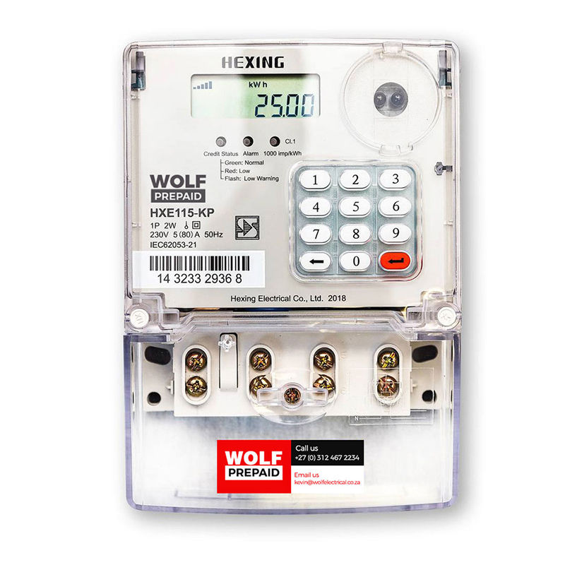 Hexing-Single-Phase-HXE115-KP-Electricity-Meter